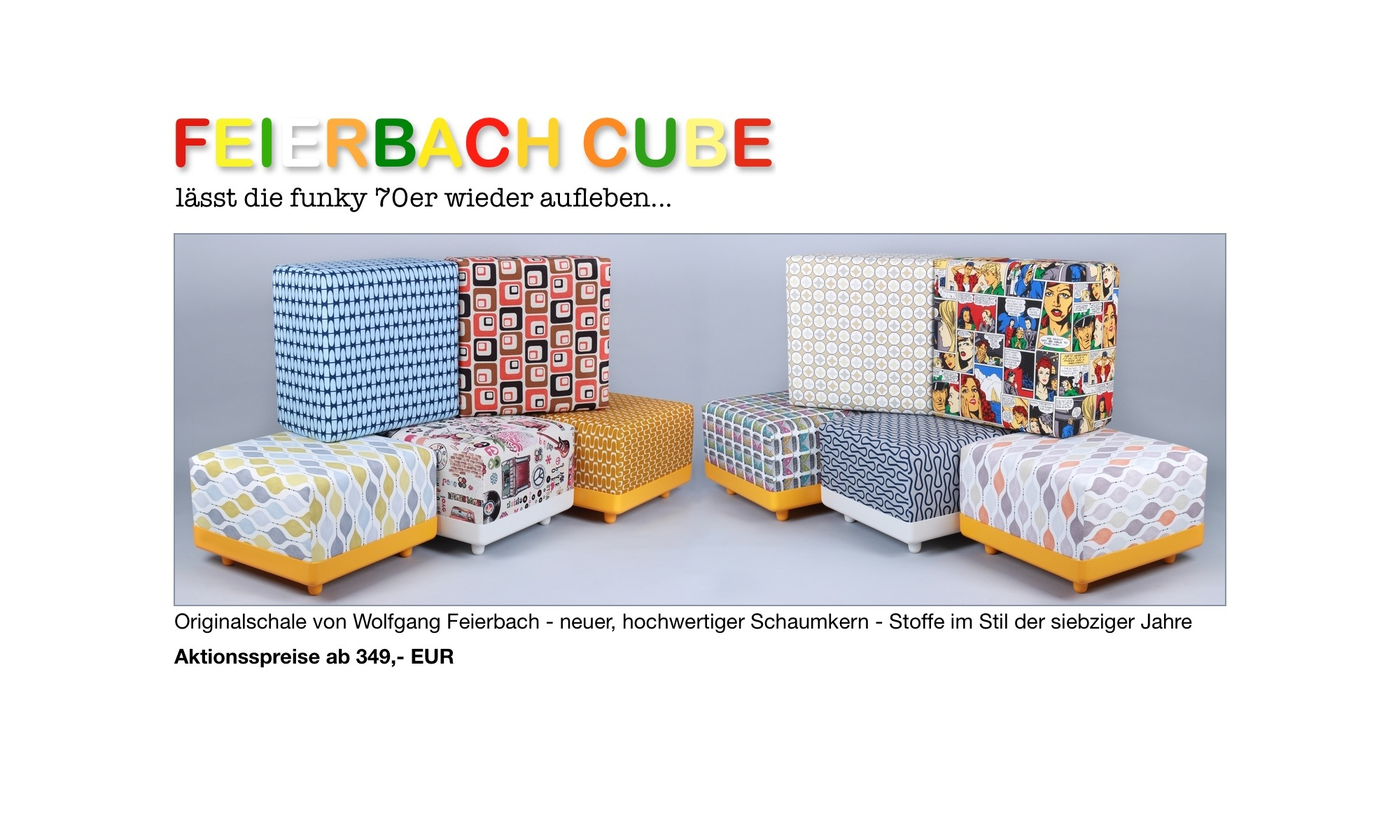 feierbach cube l sst die funky 70er wieder aufleben. Black Bedroom Furniture Sets. Home Design Ideas